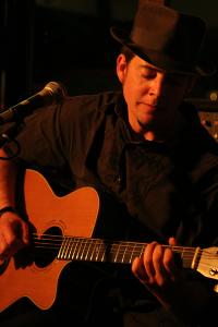 Christchurch covers musician and guitarist Davey Backyard