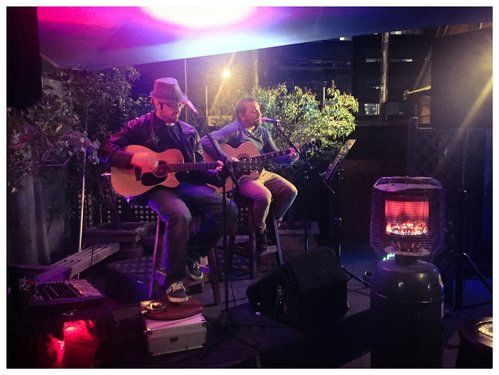 Christchurch covers duo Steve and Andy