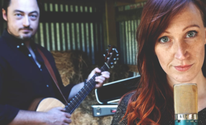 Christchurch acoustic duo The Wax Birds